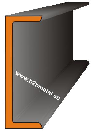 Plieninis lovys GOST 8240-89 su lygiagrečiomis lentynomis