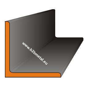 Уголок равнополочный, стальной, металлический горячекатаный