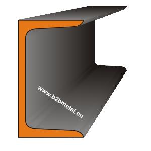 UPN (UNP) металлический, стальной горячекатаный швеллер с уклоном внутренних граней полок